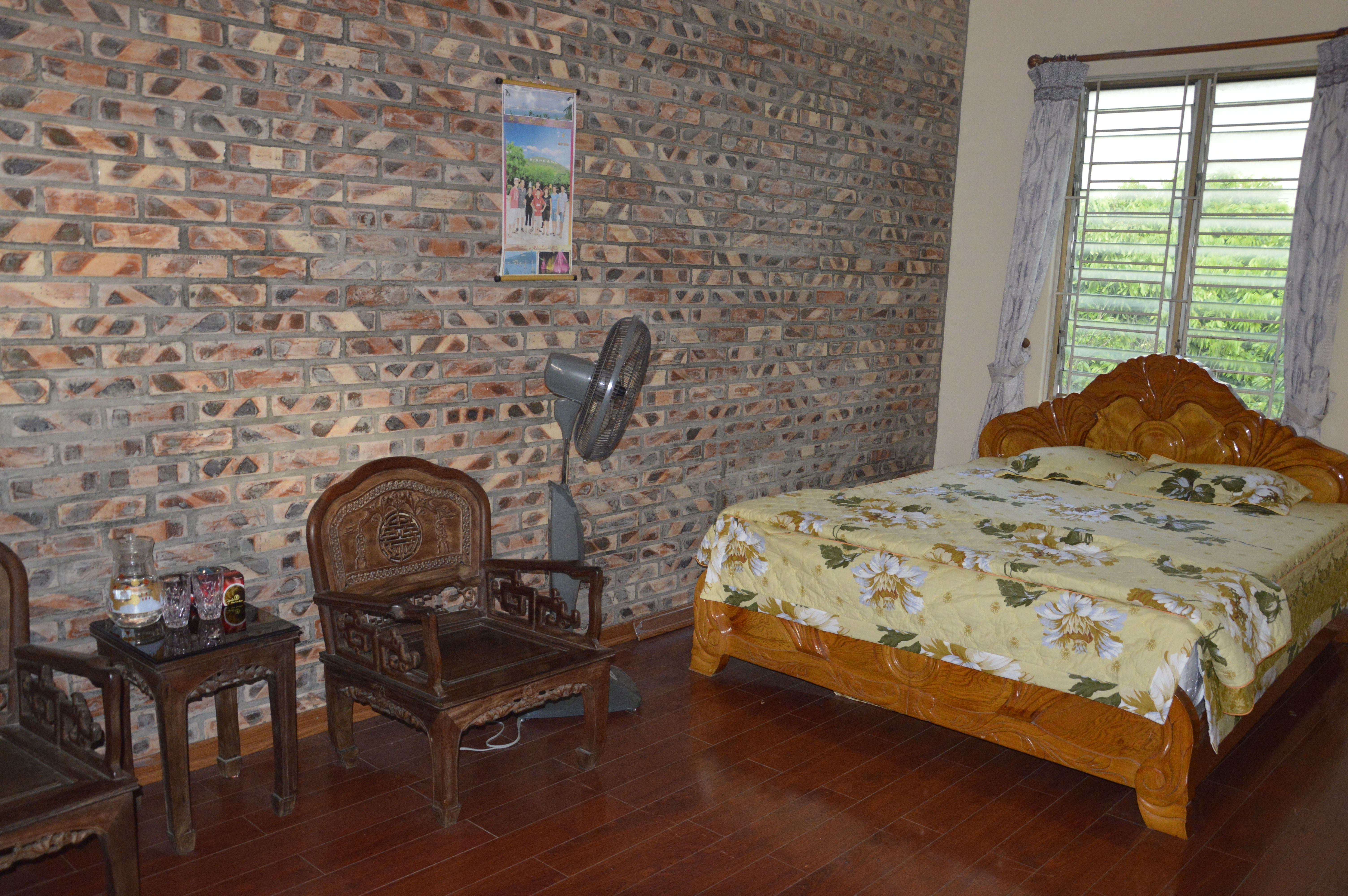 Chambre privée confortbable chez l'habitant à Chua Thay. Http://aventure-vietnam.com