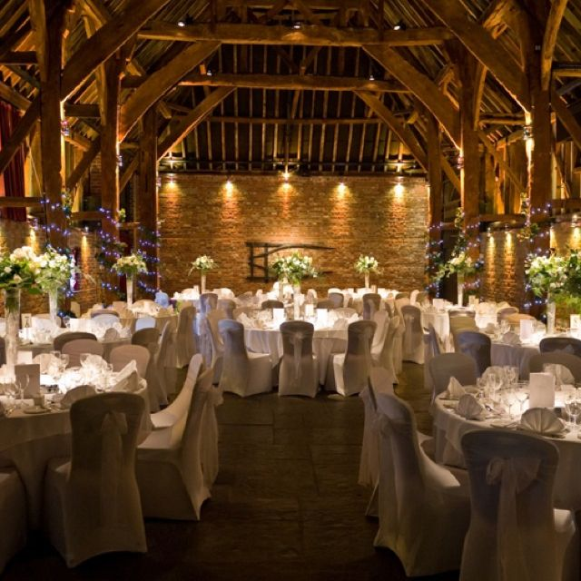Cooling Castle Barn Kent England I Love Te Atmosphere Because You Onl Need Wedding DecorationsBarn VenueWedding