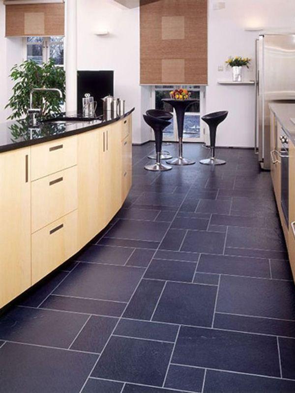 Slate Floors Vinyl Flooring Kitchen Kitchen Flooring Kitchen