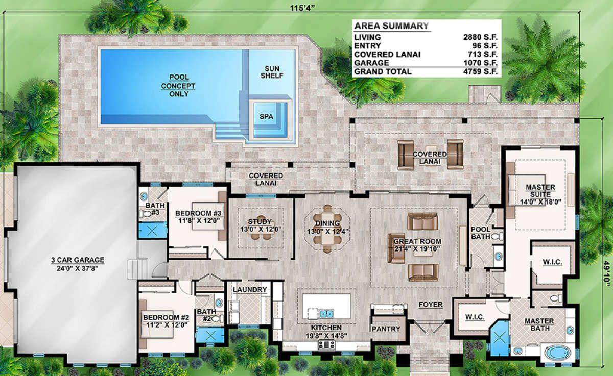 House Plan 207 00028 Contemporary Plan 2 880 Square