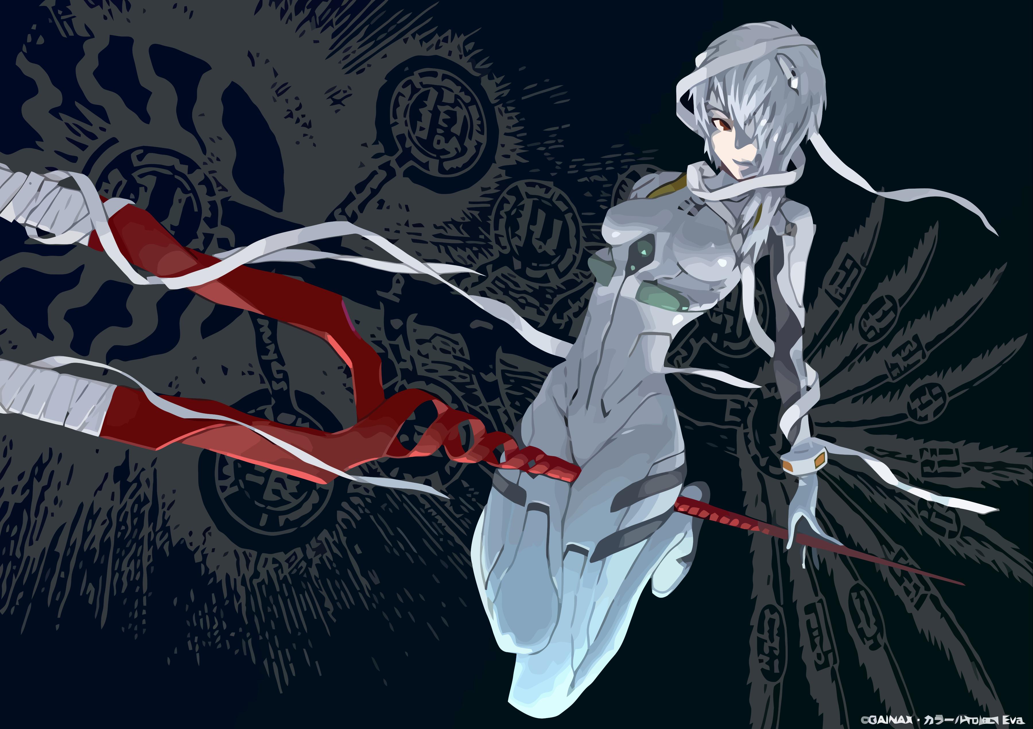 Ayanami Rei Neon Genesis Evangelion Wallpaper Evangelion Neon Genesis Evangelion Evangelion Art