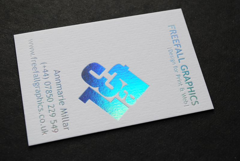 Foil Printed Business Cards By Auroraprint Stamped Business Cards Foil Printed Business Cards Printing Business Cards