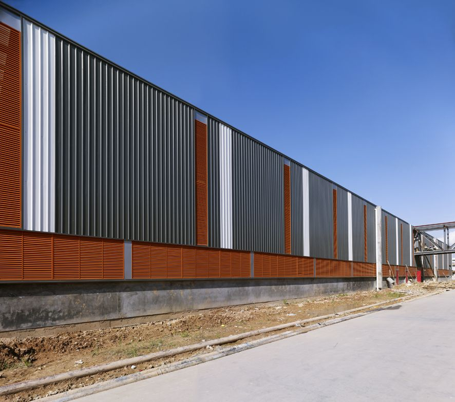 Dongguan toy warehouse mhoa precedent images pinterest for Modern industrial building design