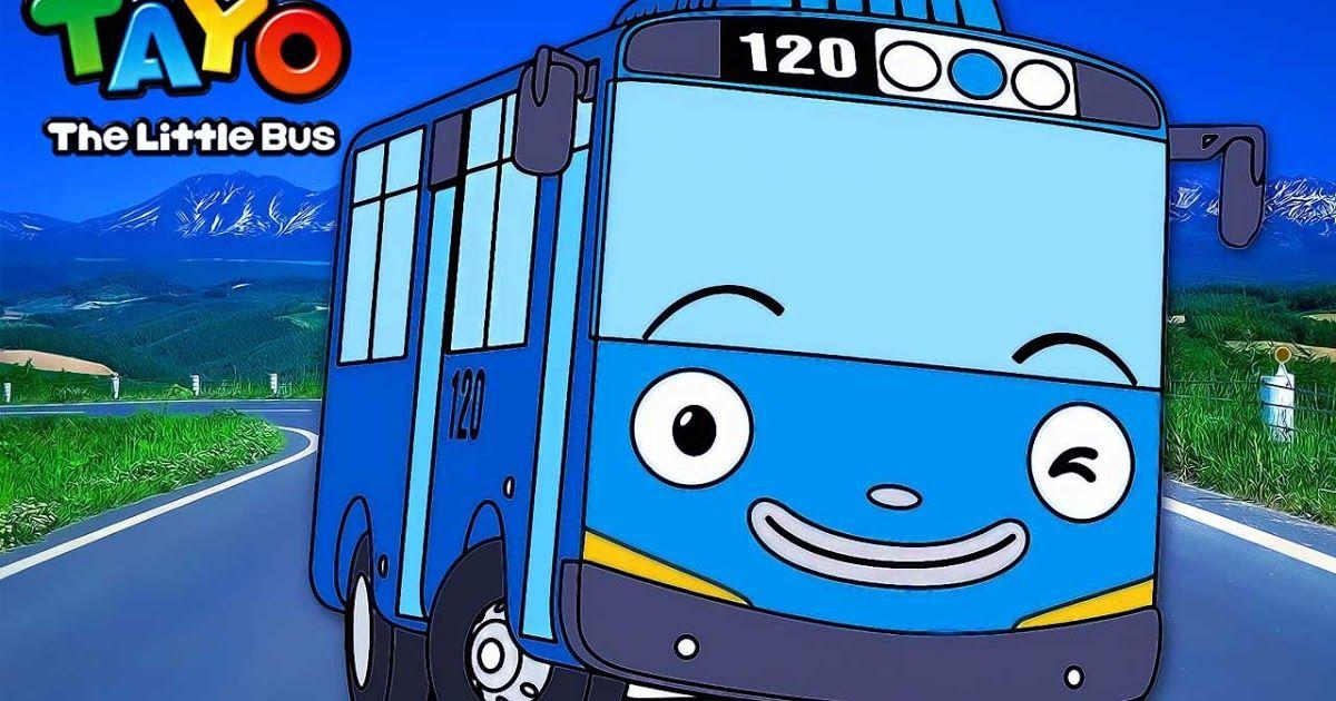 Kali Ini Saya Akan Membagikan Gambar Mewarnai Tayo The Little Bus Yang Menceritakan Tentang Kehidupan Sehari Hari Para Mobil Bus Kecil Warna Gambar Mobil
