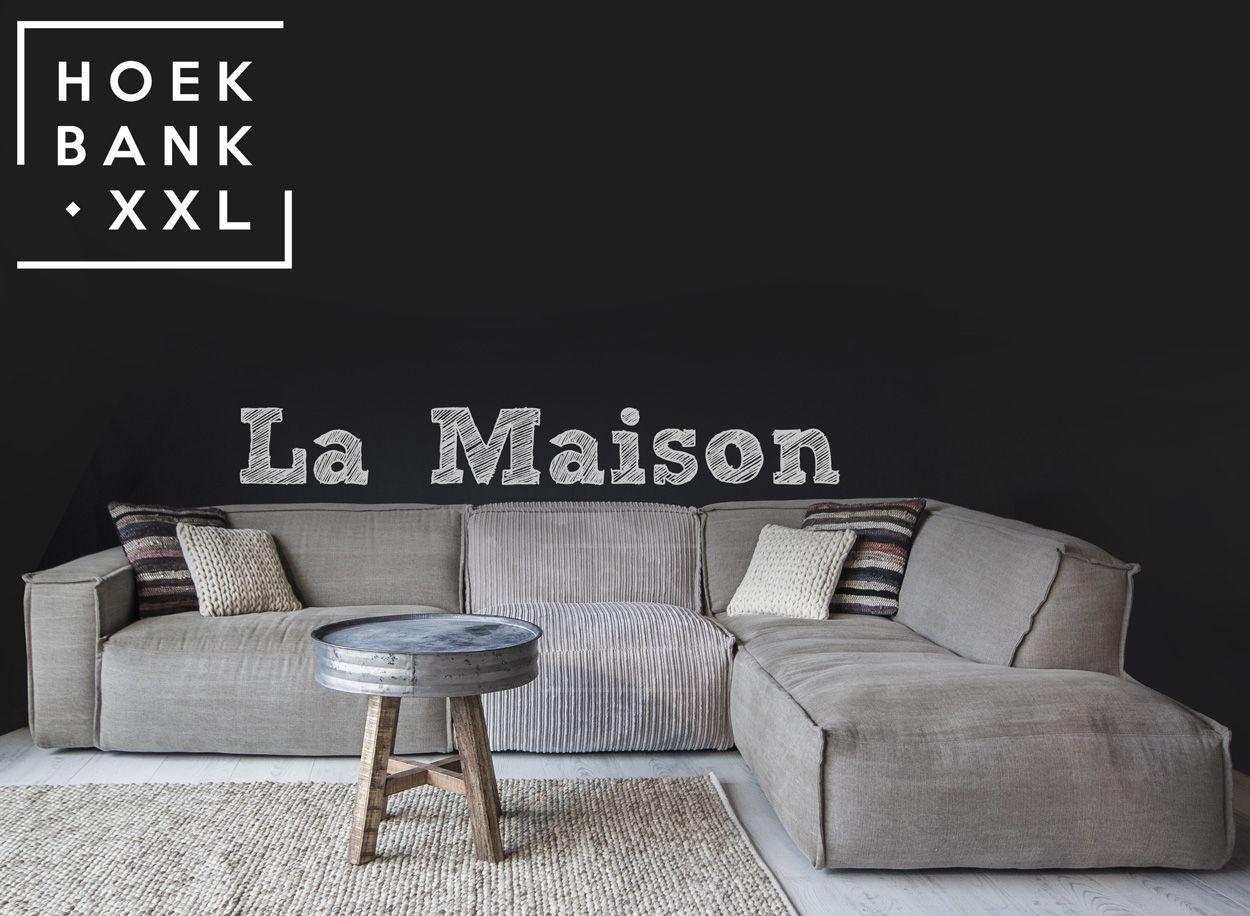 Elementenbank La maison met longchair. Grote lounge bank ...