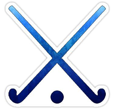 Field Hockey Dark Blue Sticker By Hcohen2000 In 2020 Field Hockey Stickers Field Hockey Hockey
