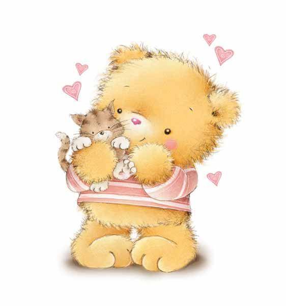 картинки с медвежатами добрые и милые этой