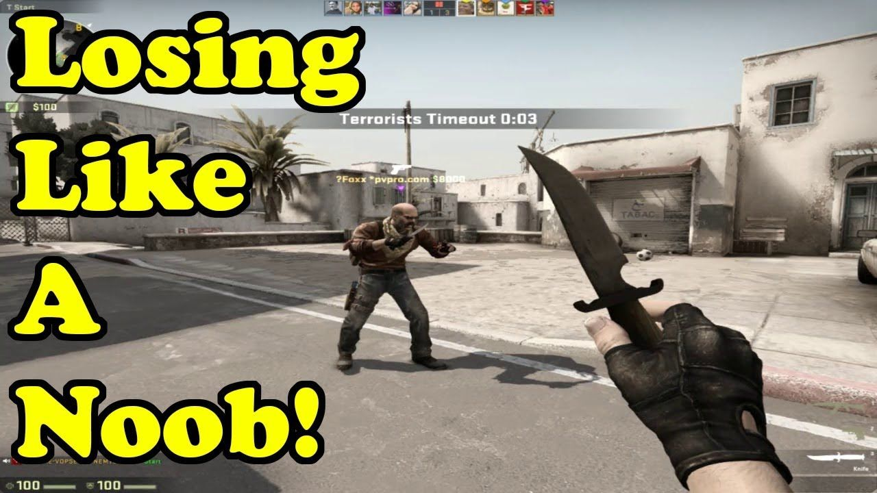 Losing like a noob ! CSGO Competitive No Commentary