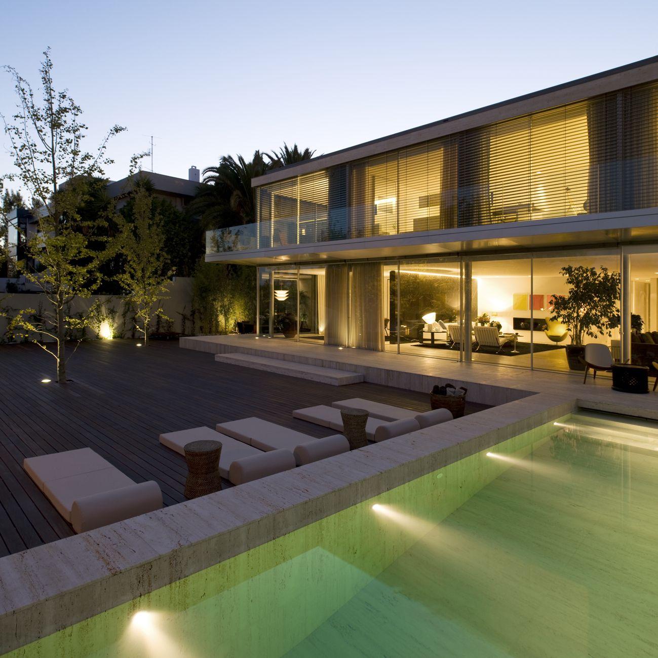 Giardini Per Case Moderne house in foz do douro ii / josé carlos cruz | design esterno