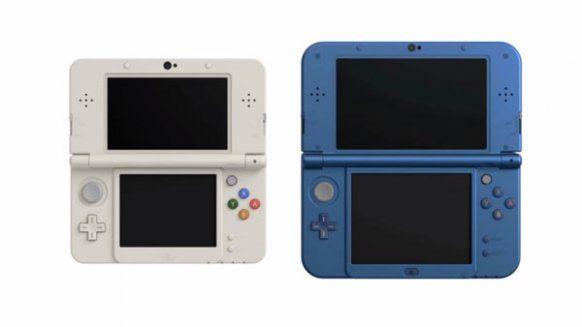 Nintendo anuncia una nueva 3DS con un pequeño stick derecho y dos botones superiores