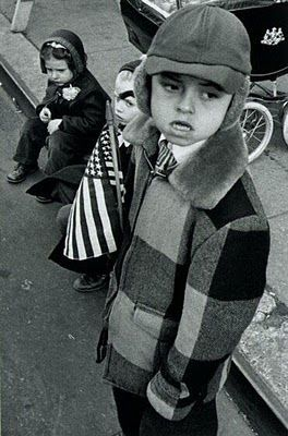 William Klein - American Boy  I just love this kid's expression. And shot from a good angle.