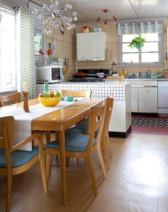 Jeanee's Sunny Vintage Kitchen  Best Mid Century Modern Kitchen Fair Vintage Kitchens Designs Design Decoration