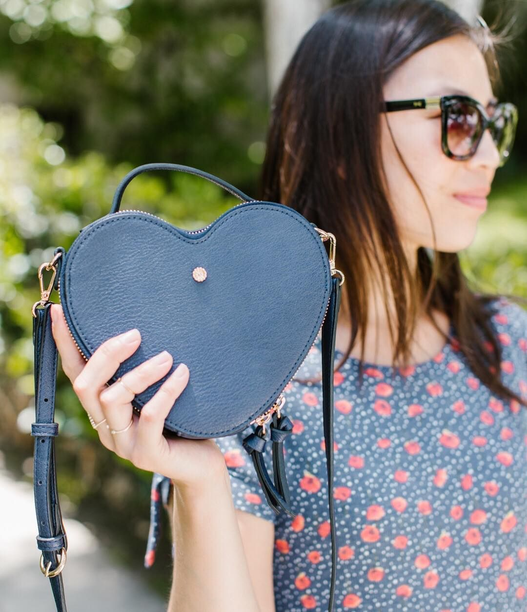 7abba2421 Wear your heart on your handbag ❤ Tap to shop this #LCLaurenConrad Heart-