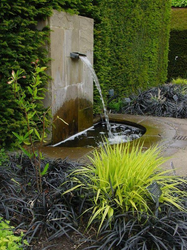 Decoration De Jardin Avec Une Fontaine Pour Bassin Fontaine De