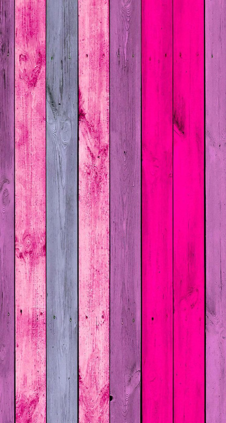 Pink Color Wood Wood Wallpaper Iphone Background Iphone 5 Wallpaper
