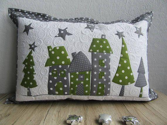 quilt kissenbezug weihnachten pol ta e. Black Bedroom Furniture Sets. Home Design Ideas