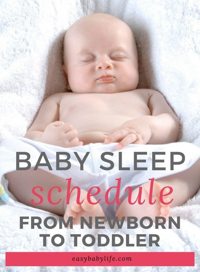 how to start a sleep schedule for baby