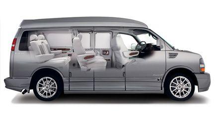 A Sneak Peek Inside This Beautiful Custom Explorer Van Conversion
