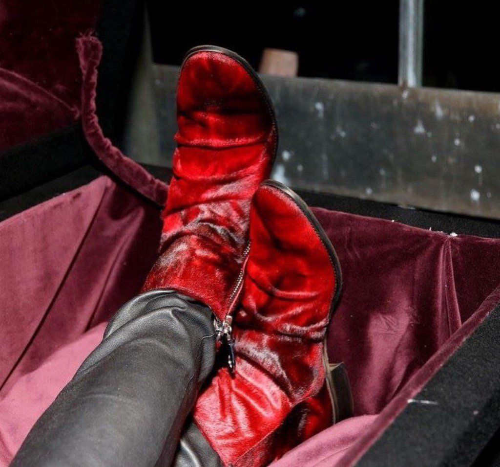 Been one of those days... Lovin' my Red John Varvatos boots
