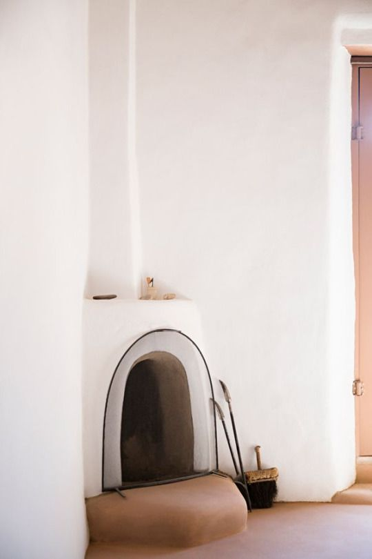 home of georgia o'keeffe in abiquiu, new mexico - photo by brittany For Home Babiquiudesigns on