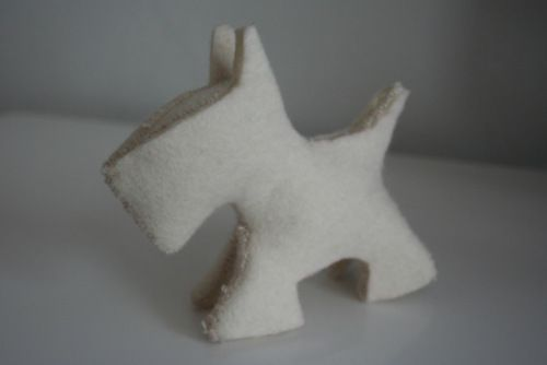 Scottie Dog - DIY plushies free sewing patterns
