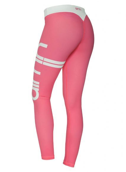 <p><strong>CONFIDENCE</strong></p> <p>Strategically made to shape, tone and bring you booty game with one of our original designs. These pink plain retro-styled stripe tights will take your confidence to the next level!</p>
