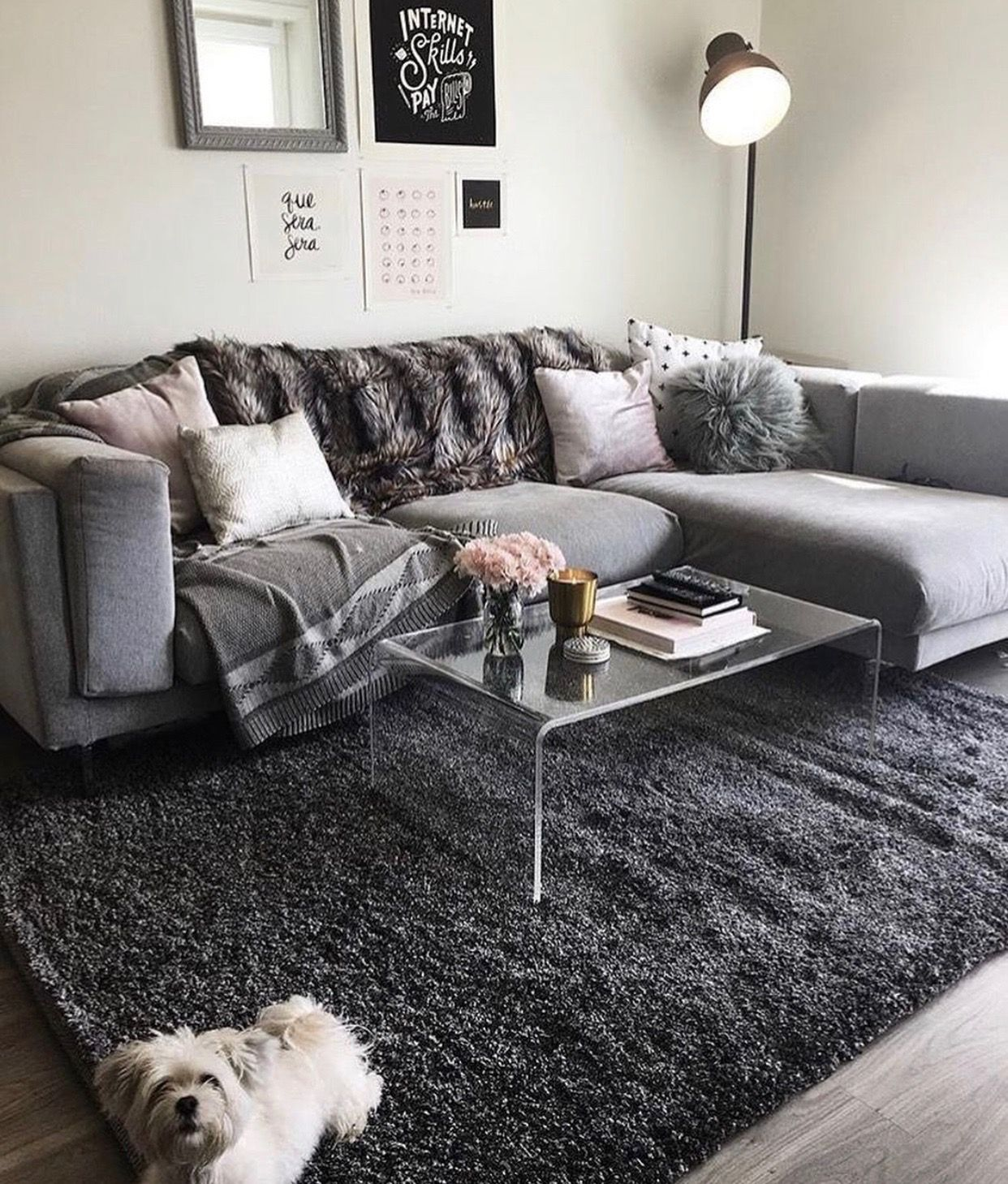 46 Cozy Living Room Ideas And Designs For 2019: $ 𝙥𝙞𝙣 : @ 𝙙𝙚𝙚𝙨𝙩𝙞𝙣𝙚𝙚𝙮 💛