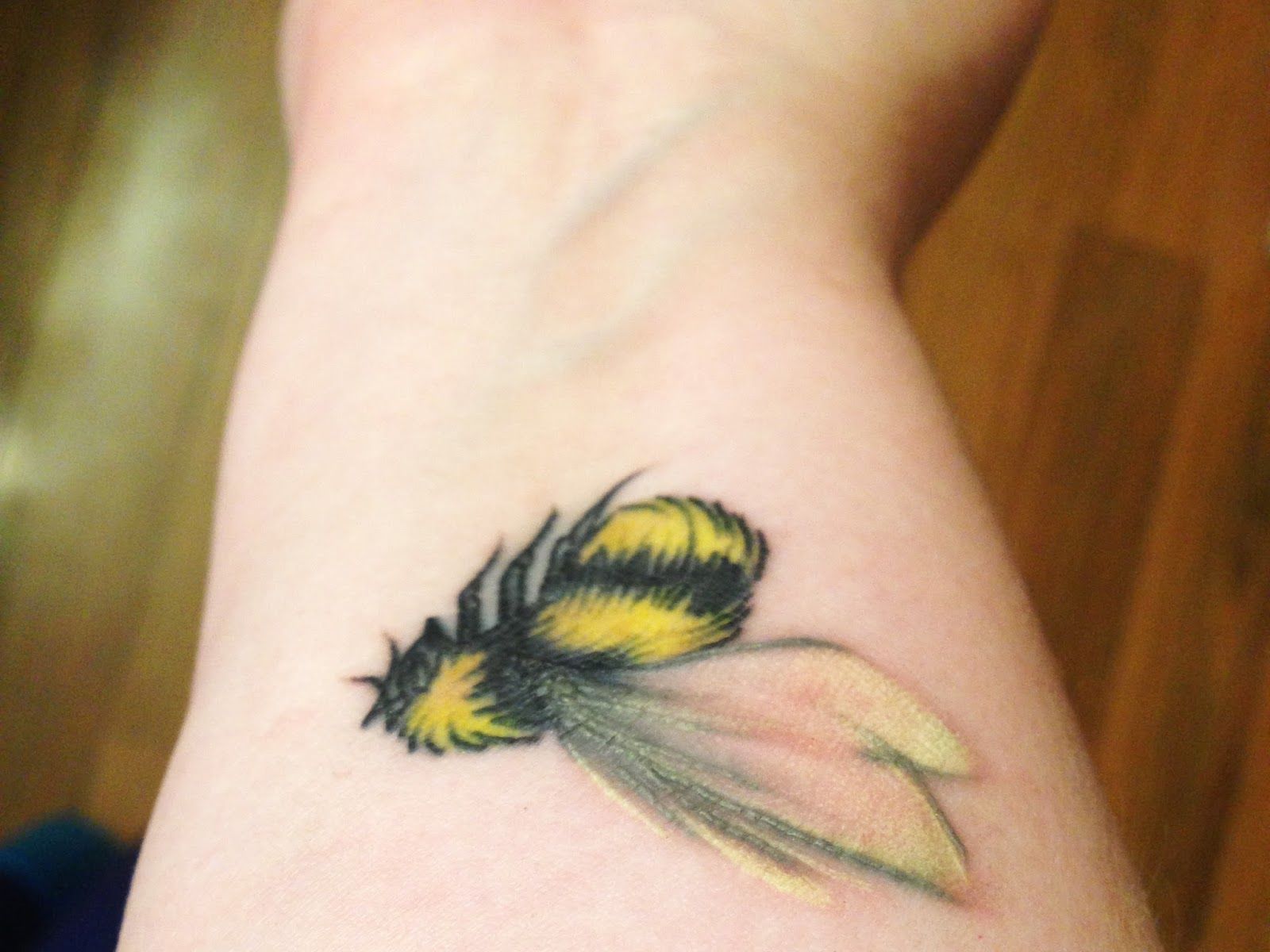 Bee Tattoo Cover Up For Mine