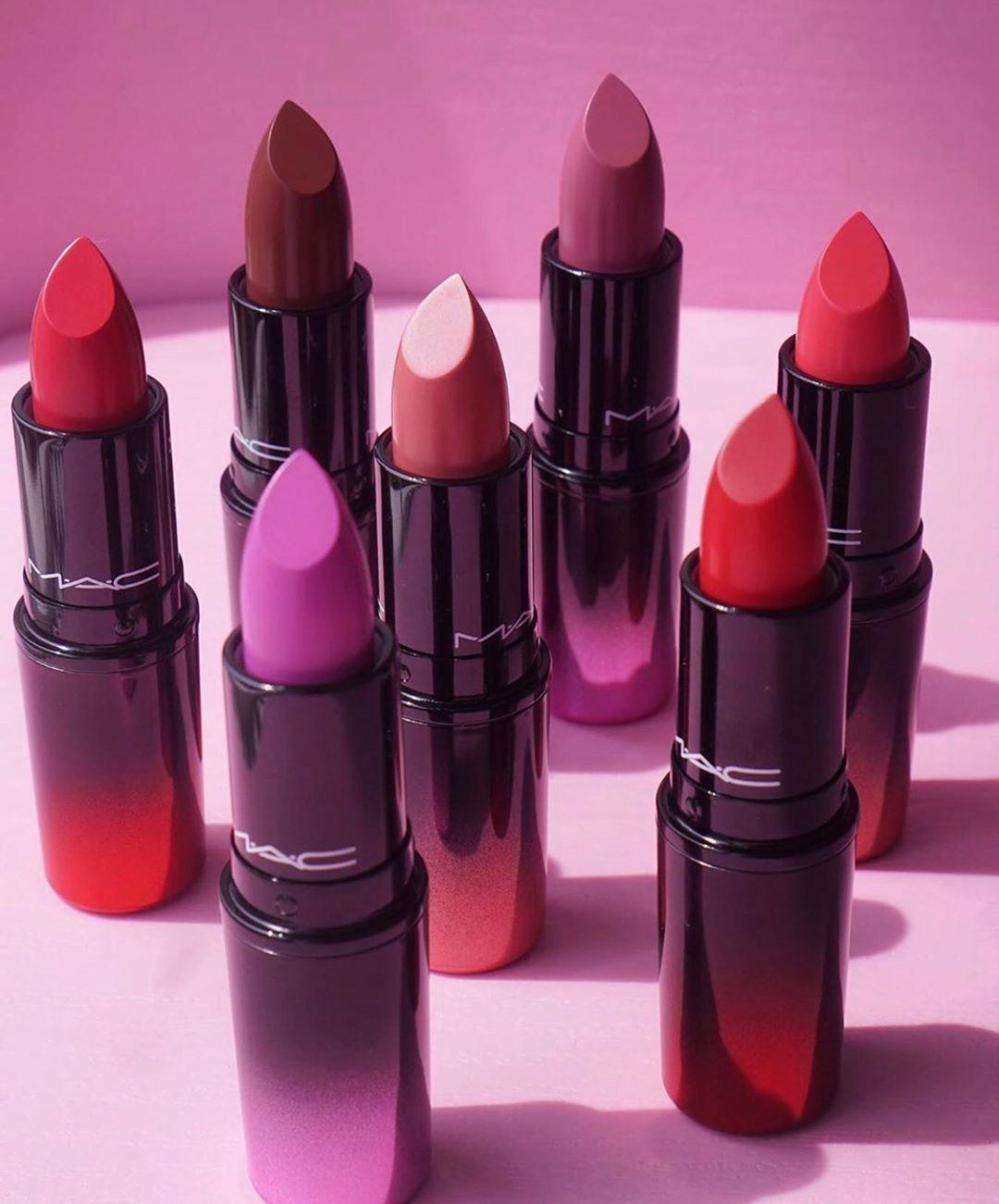 "M·A·C Cosmetics Australia on Instagram ""Love Me lipsticks"