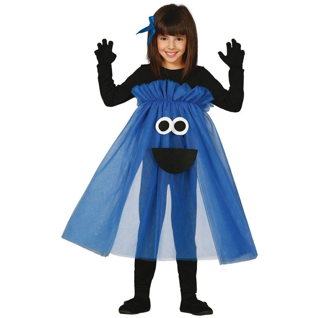 Disfraz de Monstruo Tutú Azul Infantil Disfraz