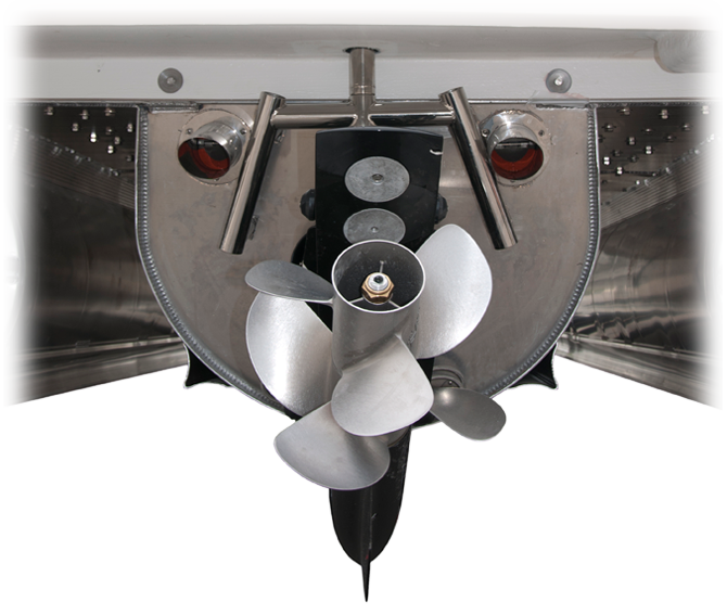 Bravo 3 Dual Prop Outdrive For Avalon Pontoon Boats