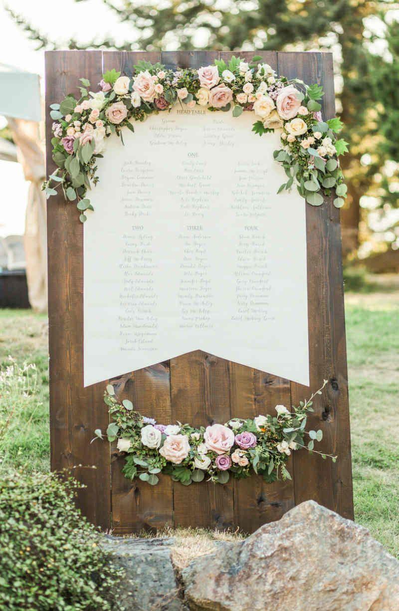 Floral Seating Chart Ideas | Brianna | Pinterest | Garden party ...