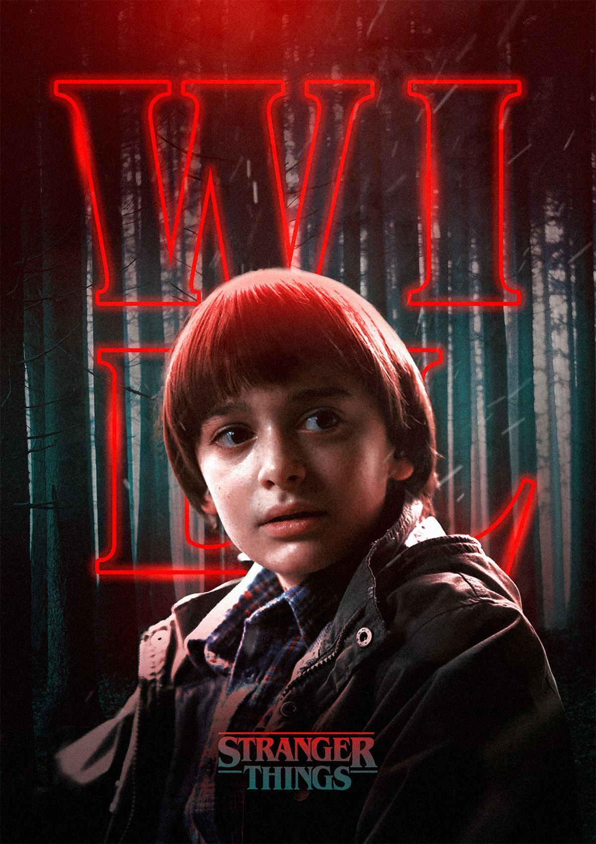 Spooky Stranger Things Characters Posters  Digital Artist and designer Rigved Sathe well-known by the Fubiz team just created a wonderful series of posters with the Strangers Things tv show characters. With the visual codes and the graphic universe of the show he created posters for each of the main characters in a stunning Photoshop manipulation showing his post productions and editing skills to realize these great artworks.           #xemtvhay