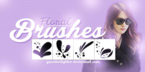 Floral Brushes (Free) by yssietwilighter.deviantart.com on @deviantART