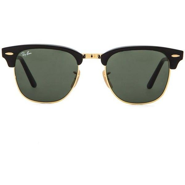 Ray-Ban Clubmaster Folding Accessories (450 BRL) ❤ liked on Polyvore  featuring accessories. Óculos De Sol ... b9bfd067ed