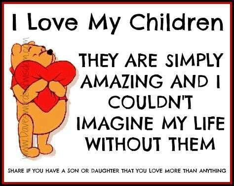 I ♥ my children.