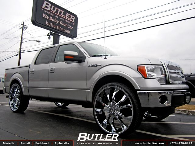 F150 Rims Ford F150 With 30in Lexani Lust Wheels Cars