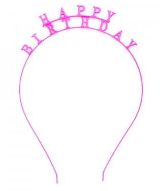 "Girl Talk Party Headband - ""Happy Birthday"" or ""Future Mrs."" – H.C.B."