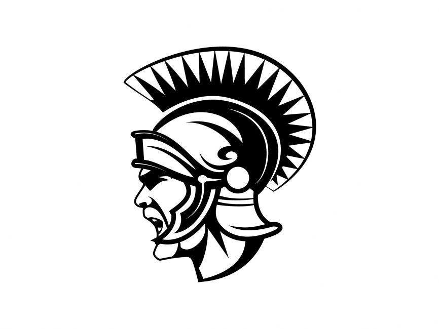 roman gladiator vector logo vector logos pinterest