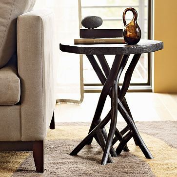 Branch Side Table West Elm Table Side Table Elm Tables