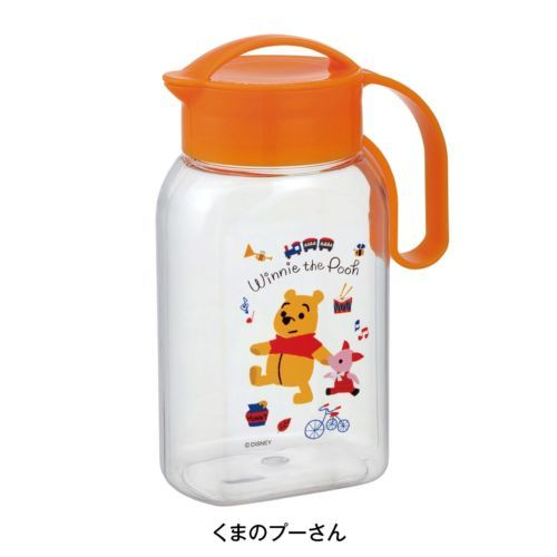 New Disney Winnie The Pooh Water Pitcher Bottle Jug Made in Japan Limited | eBay