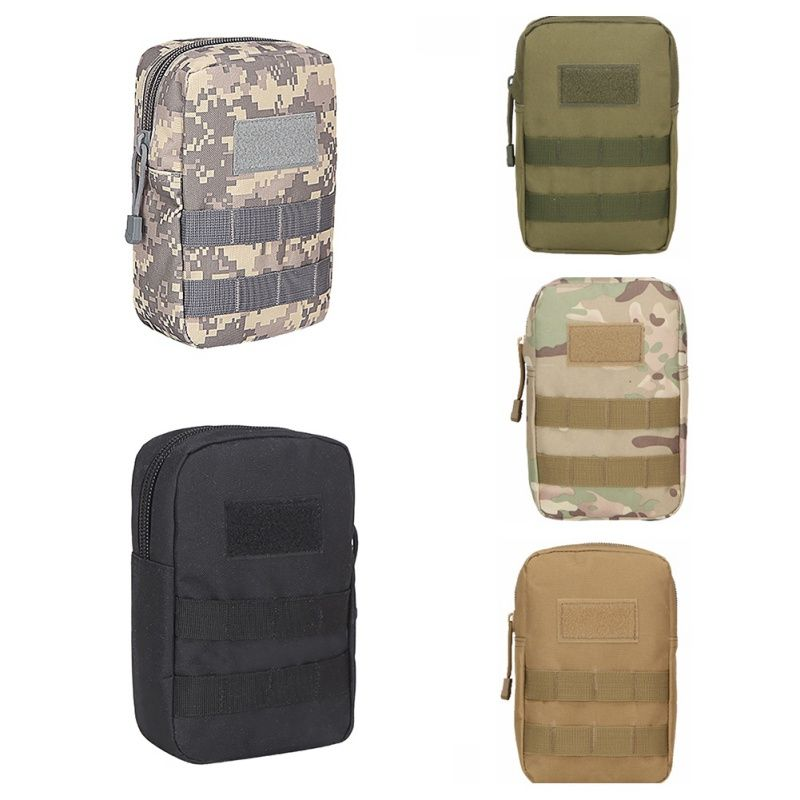 18310b1312a8 Outdoor Tactical Vest Pouch Accessory Tool Waist Bag Nylon Molle ...