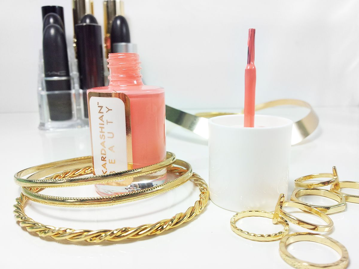 Kardashian Beauty Nail Polish Perfection // Mateja's Beauty Blog