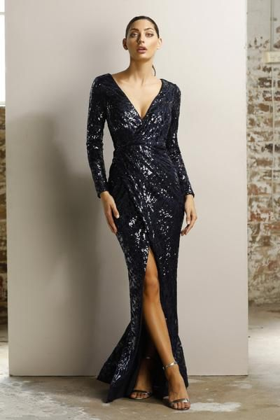 Jadore Clover Dress Jx1044 Navy Rrp 495 Dress For A Night