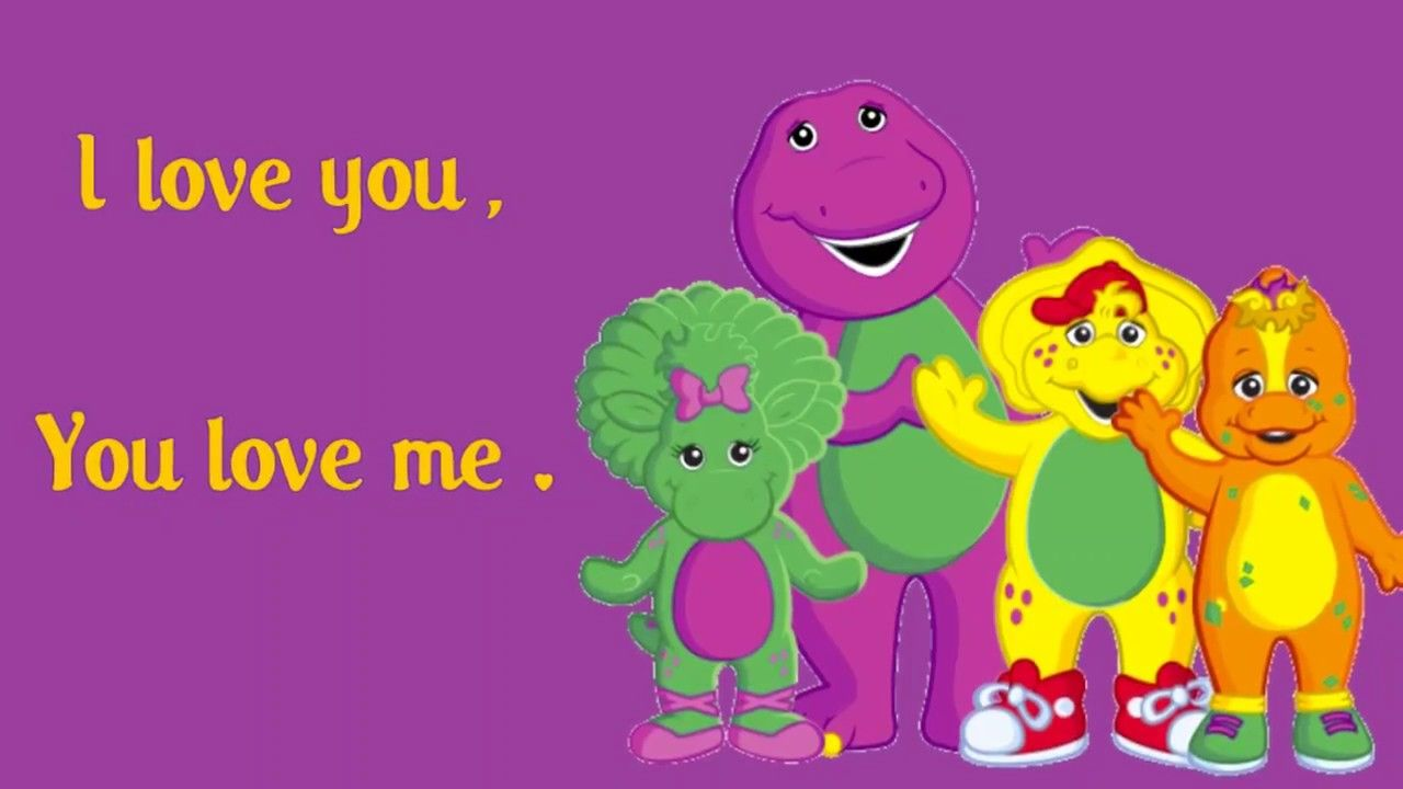 I Love You Me Lyrics Barney