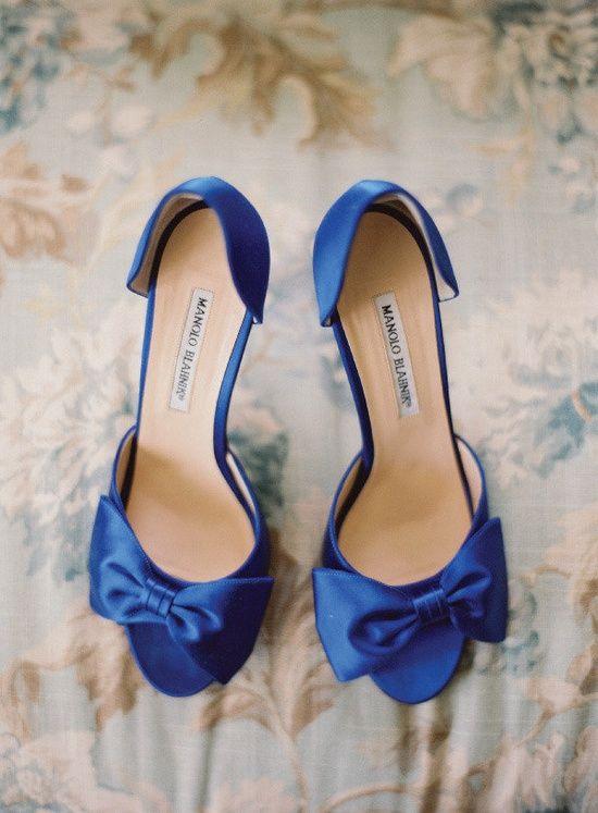 Everything About Royal Blue Wedding Theme Blaue Schuhe Schuhe Hochzeit Manolo Blahnik
