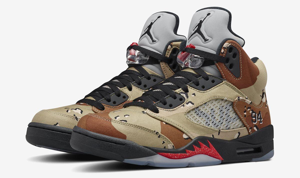 Nike is Releasing The Supreme x Air Jordan 5