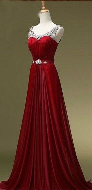Prom Dress,Red Prom Dress,Discount