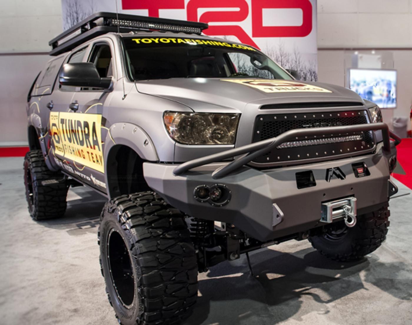 Toyota tundra ultimate fishing edition by britt myers cs motorsports