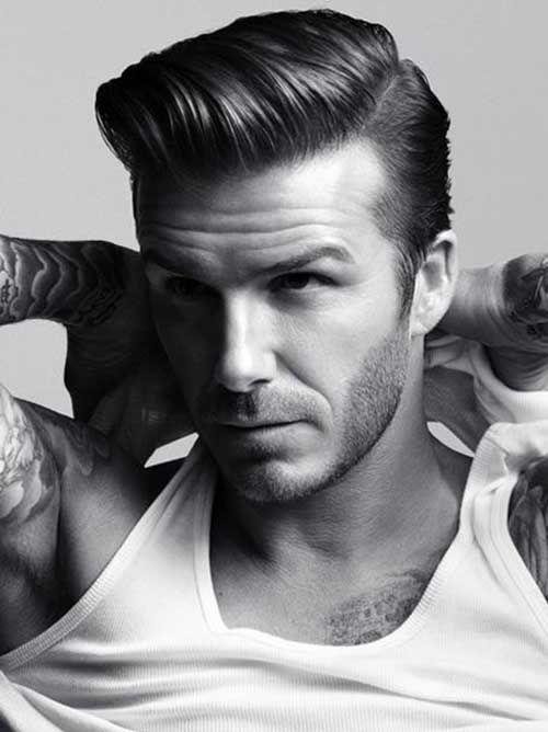 David Beckham HM Inspired Hair Tutorial